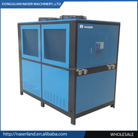 30tons 106KW air water cooler for plastic machines