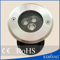 High power 3w waterproof ip68 pool waterfall led light