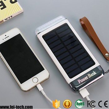 18650 li polymer battery solar mobile charger
