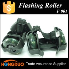 Two flashing wheel land roller skate