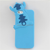 Soft Silicone 3D Cartoon Animal Phone Case Cover for iphone6 plusCases Covers Hot Sell
