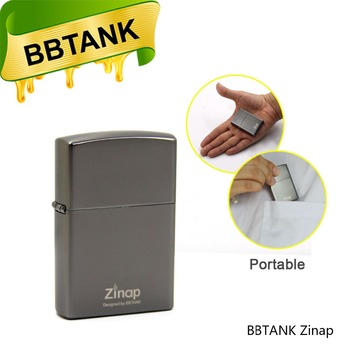 Original Manufacturer BBtank Zinap vape pen 410mah battery with 0.5ml BBgear Ceramic Coil CBD cartridge