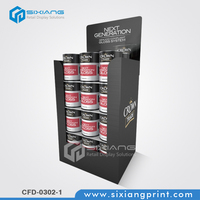 Promtional Cardboard Pallet Display For Haircare Products