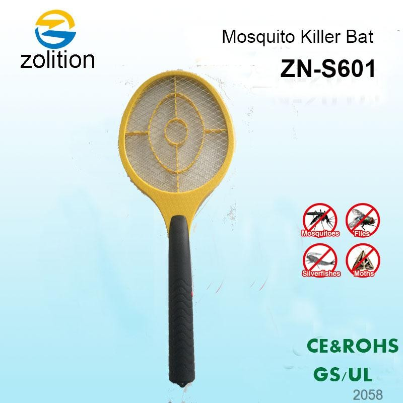 Zolition Uchome Three Layer Net Electric Insect Bug Mosquito Zapper Fly Swatter With Led Torch ZN-S601