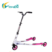 3 wheels foldable adult speeder kick tri scooter