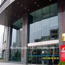 6mm 8mm 10mm Reflective Tempered Glass Curtain Wall For Commercial Buildings