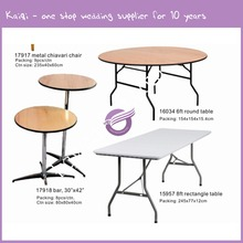 ZY00060 Round Plastic Folding round banquet tables wholesale