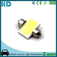 2016 Hot selling t10 festoon cob 12V car width lamp car led light