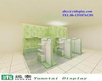 beauty supply store shelf modern shop counter design for garment