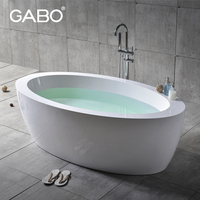 Man-made Stone Double Sizes luxurious Bathtub, stone resin bath