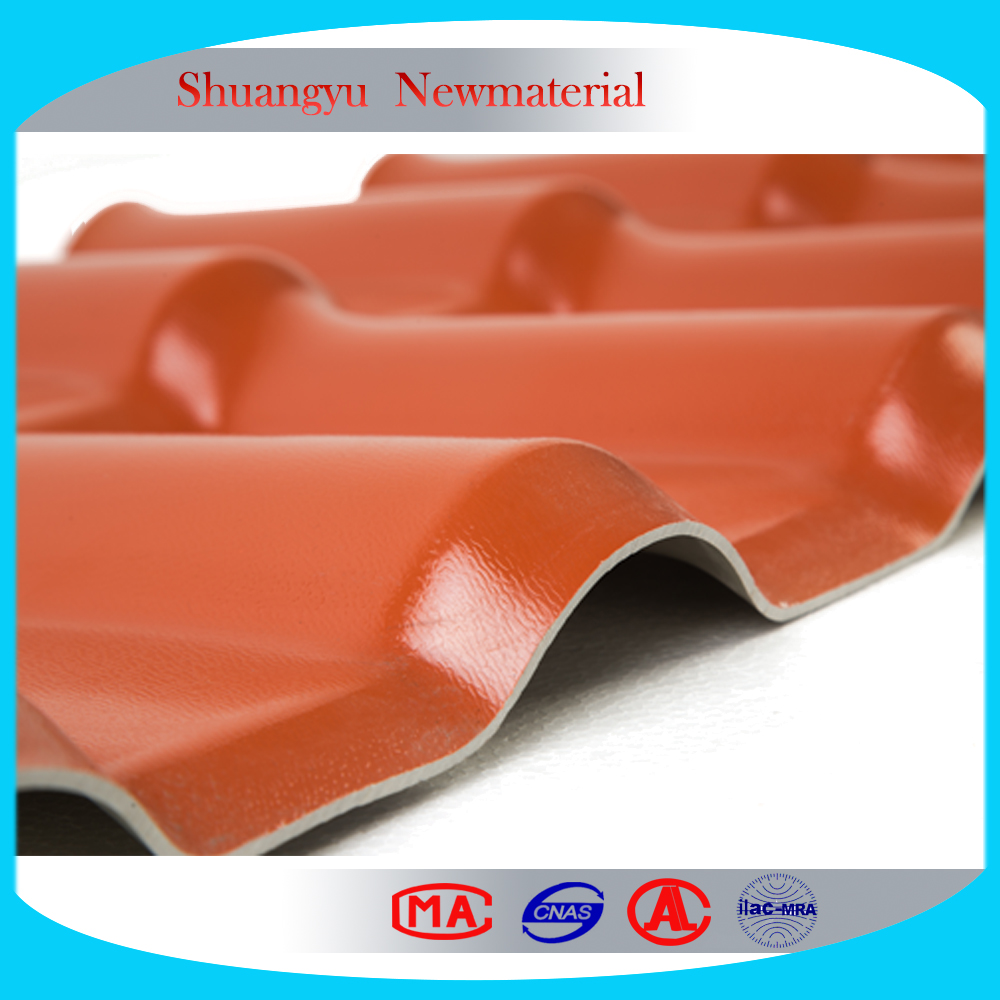 Fire resistant and heat resistant roofing tile/polycarbonate sheets