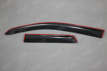 Car accessories 2 doors injection windows visor for toyota hilux pick-up vigo 2008~2012