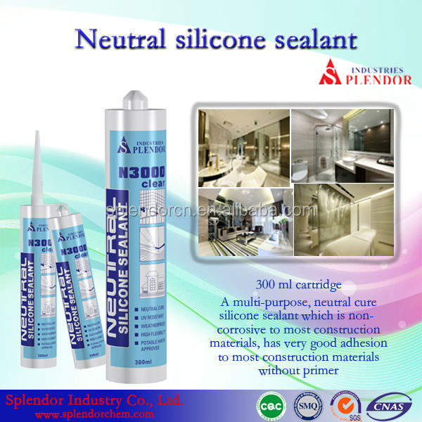 Neutral Silicone Sealant/ water resistant wood silicone sealant/ pvc floor adhesive silicone sealant