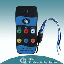Accurate and Instant Interactive Wireless Voting System with Laser Pointer for Quiz Show RF317