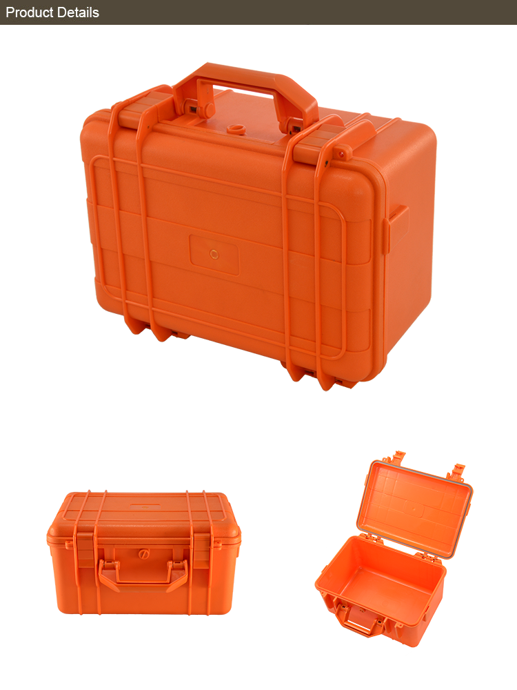New products colorful plastic storage box with handle