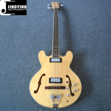 Wholesale Factory Direct Sale Best Selling Custom 4 Strings Hollow Body Bass Guitar