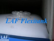 LAF Top load and Bottom Discharge Flexitank/Flexibag in Truck