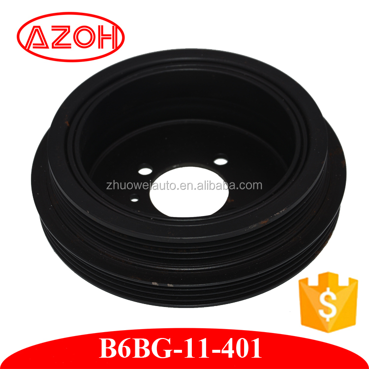 Mazda 323 Parts Belt Pulley for Crankshaft 1.6L BJ ZM B6BG-11-401
