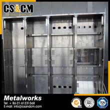 custom made aluminum fabrication box / case / enclousre
