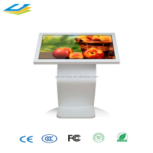 43 Inch metal free stand HD Multi Touch Screen Kiosk with high quality