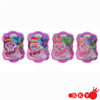 wholesale plastic pink cheap comestic toy promotional toys makeup toys