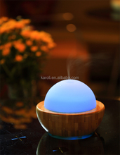 Electric Real wood Ultrasonic aroma Diffuser ,Essential oil diffuser ,min aroma Humidifier for all nautral Essential oil