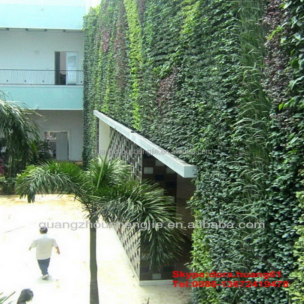 China Selling Vertical Garden System Artificial Plant Wall