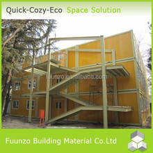 Quick Build Sandwich Panel Movable Equipped Office Container