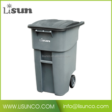 50 Gallon Trash Can with Lid
