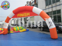 Hot selling inflatable running arch, inflatable archway for start line, inflatable arch for sport events
