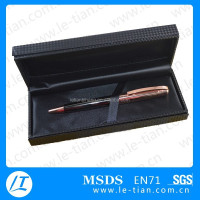 LT-Y879 carbon fiber box, carbon fiber pen set for corporate gifts
