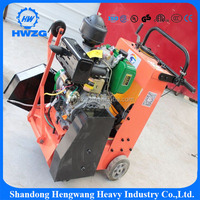 Hand-Held Gasoline Concrete Steel Metal road cutting saw machine