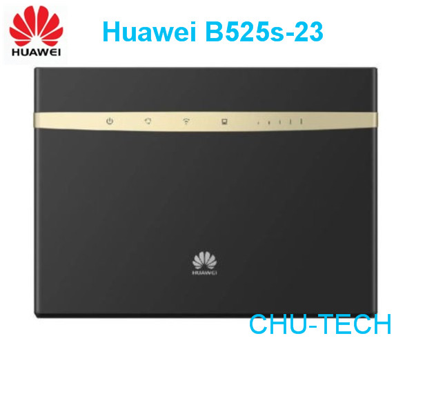 unlocked Huawei B525 4G LTE Cat6 300M Wireless Router 4 x RJ45 Gigabit Ethernet ports 1WLAN plus 2pcs antenna