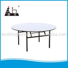 factory direct price folding dinner table for wedding