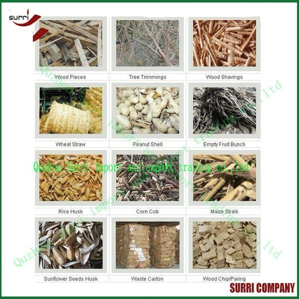 Surri Electric Wood Sawdust briquette machine