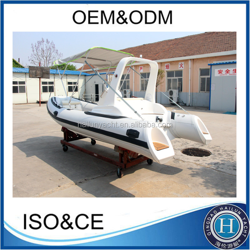 Rigid inflatable boat 15.4ft/470cm glass bottom boats for sale rib 470C