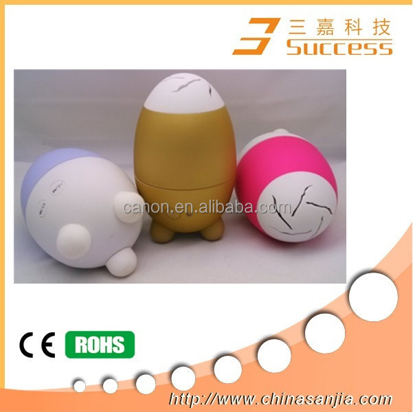 2015 Hot Sale Wireless Portable Mini Bluetooth Speaker, Egg Bluetooth Speaker For Mobile Phone And Home Theater
