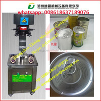 Best Price Pneumatic metal tin can bottle sealing machine / can seamer