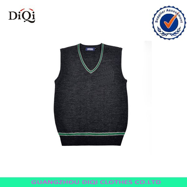 cool sweater vests for cool boys,latest new style sweater,school uniforms sweater vest