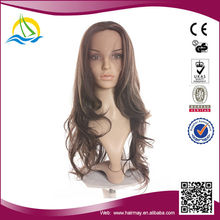 Factory price Heat Resistant Fiber crazy color lace wigs