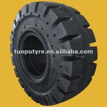 Chinese Big Rubber OTR Solid Tire Loader Wheel 20.5-25