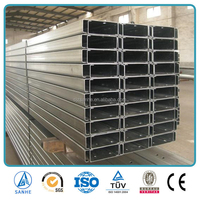 C Channel Steel Price Galvanized C Purlins