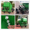 Agicultural tractor potato planter machine with fertilizer