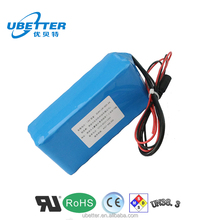 Rechargeable 12V 24ah Lithium Ion Battery Pack for UPS
