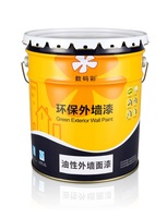 Color retention good anti fouling and cleaning oily exterior paint wall