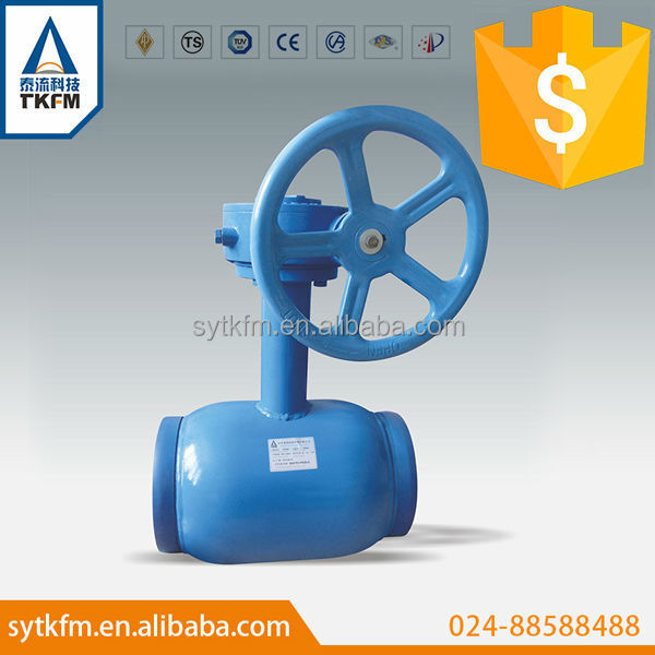 Chinese industry wholesale cheap supply three way ball valve with trunnion ball