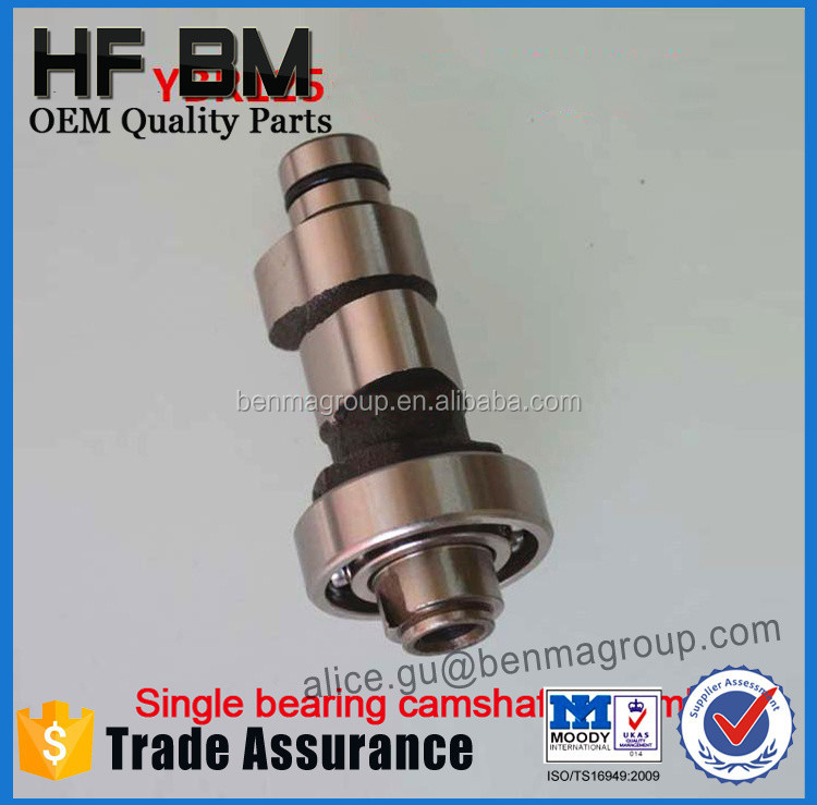 Motorcycle Parts Camshaft OEM Quality Camshaft Cheap Sell Motorbike Camshaft YBR125