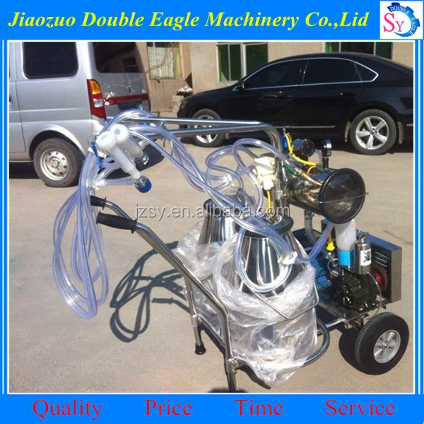 small Economic home use electric single cow portable milking machine /camel milking machine