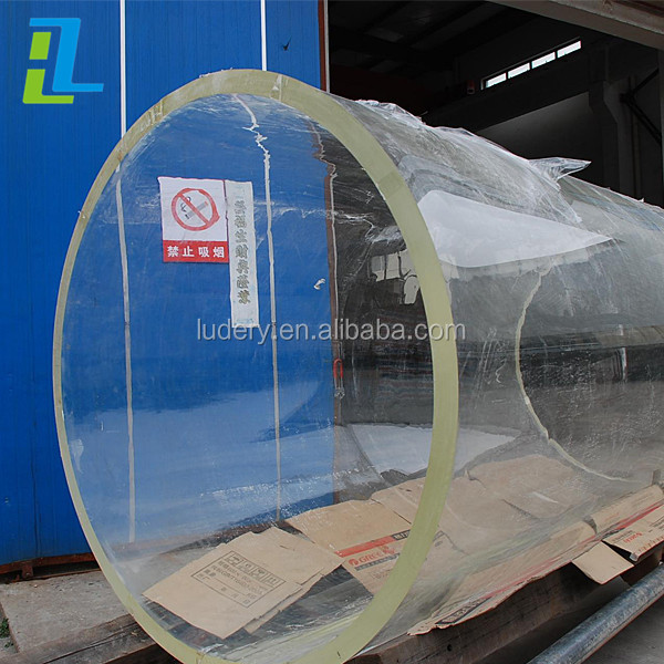 300mm 500mm 600mm 800mm Large diameter acrylic round tube for sale