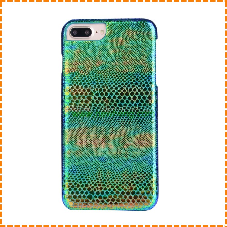 Snakeskin Pattern Plastic Hard Skin phone Case For iPhone 7 7 plus